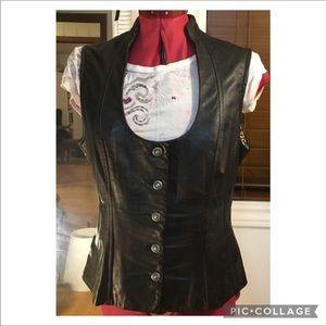 Danier small leather vest